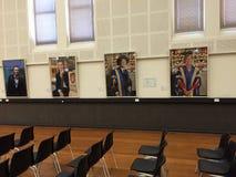 O interior da universidade em Austrália foto de stock