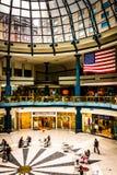 O interior de Liberty Place em Philadelphfia, Pensilvânia Imagens de Stock Royalty Free