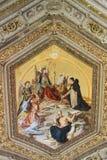 O interior de uma das salas do museu do Vaticano Fotos de Stock Royalty Free