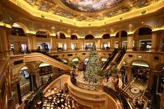 O interior do casino Venetian Imagens de Stock