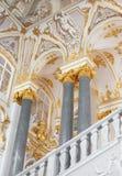 O interior do eremitério Fotografia de Stock Royalty Free