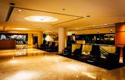 O interior do JW Marriot em Washington, C.C. Fotos de Stock Royalty Free