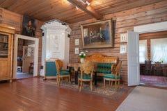 O interior do museu Suvorov. Imagem de Stock