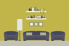 O interior do quarto Imagens de Stock Royalty Free