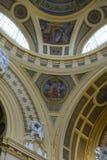 O interior dos termas do thermal de Széchenyi Fotos de Stock Royalty Free