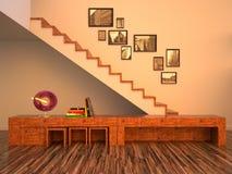 O interior funky Imagem de Stock