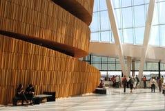 O interior nacional norueguês de Opera e do bailado Imagem de Stock Royalty Free