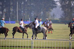 O International 2016 do Pequim Polo Open Tournament Imagem de Stock