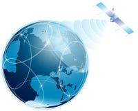 O Internet global. Foto de Stock