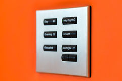 O interruptor Imagens de Stock