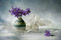 O inverno é ido fotografia de stock royalty free