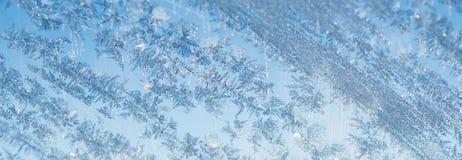 O inverno congelou o fundo Imagem de Stock