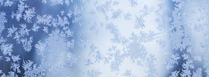 O inverno congelou o fundo Fotografia de Stock