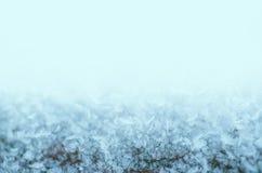 O inverno congelou o fundo Imagens de Stock
