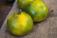O inverno frutifica no assoalho de madeira, marmelo, romã, imagens do mandarino Fotos de Stock