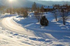 O inverno nórdico Foto de Stock Royalty Free