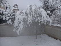 O inverno o mais agradável Fotografia de Stock Royalty Free