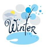O inverno veio Fotografia de Stock Royalty Free