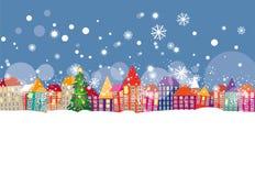 O inverno veio Imagem de Stock