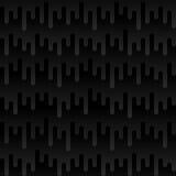 O Irregular da forma de onda arredondado alinha o teste padrão sem emenda Imagem de Stock
