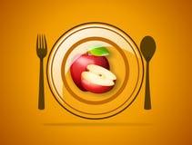 O jantar de casamento com carne do rolo fumou e tomates Imagens de Stock