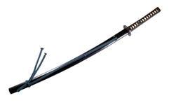 a o japońskim mieczu Zdjęcie Stock