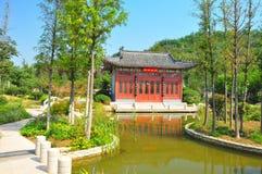 O jardim da expo de Jinan é o sétimo international de China Imagem de Stock
