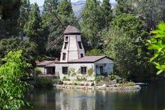 O jardim da meditação em Santa Monica, Estados Unidos Fotografia de Stock Royalty Free