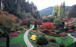 O jardim de Buchart Foto de Stock