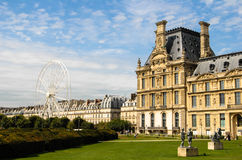 O jardim de Tuileries Fotos de Stock Royalty Free