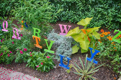 O jardim do alfabeto Imagem de Stock Royalty Free