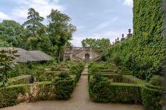 O jardim do Boixos no parque do labirinto de Horta fotografia de stock royalty free