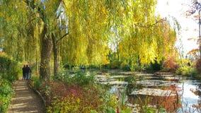 O jardim do dinheiro, Giverny, França Fotos de Stock Royalty Free