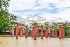 O jardim do lago Permaisuri é um do parque famoso em Cheras imagem de stock royalty free