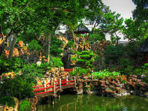 O jardim do mandarino Yu Fotos de Stock Royalty Free
