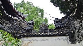 O jardim do mandarino Yu, Shanghai, China imagem de stock