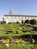 O jardim do palácio do ` s do bispo fotografia de stock royalty free