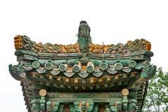 O Jardim-dragão Wall005 do imperador Imagens de Stock