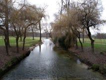 O jardim inglês, Munich, Alemanha foto de stock royalty free