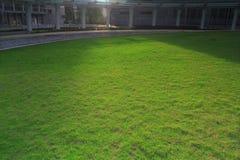 o jardim na ciência da HK e nos parques de tecnologia Foto de Stock