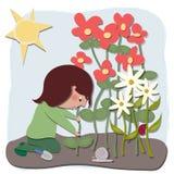 O jardineiro Foto de Stock Royalty Free