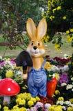 O jardineiro do coelho Foto de Stock