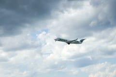 O jazz de Air Canada decola Imagem de Stock