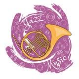 O jazz utiliza ferramentas abstraction-02 ilustração royalty free