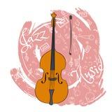 O jazz utiliza ferramentas abstraction-03 ilustração stock