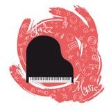 O jazz utiliza ferramentas abstraction-05 ilustração stock