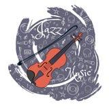 O jazz utiliza ferramentas abstraction-06 ilustração royalty free