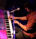 O jogador de teclado da faixa livre da queda (faixa) Imagem de Stock