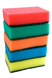 O jogo das esponjas Foto de Stock