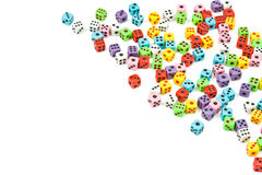 O jogo de colorido corta, vista isométrica Fotografia de Stock Royalty Free